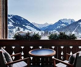 Апгрейд номера в Alpina Gstaad 5* фото 1